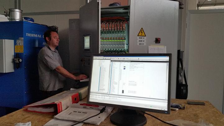 Retrofit grob CNC Robot